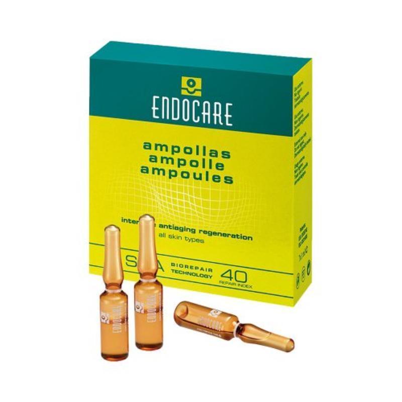 Endocare 安多可 SCA 40 蜗牛原液活肌修护再生精华液安瓶 7 x 1ml仅需€26.07