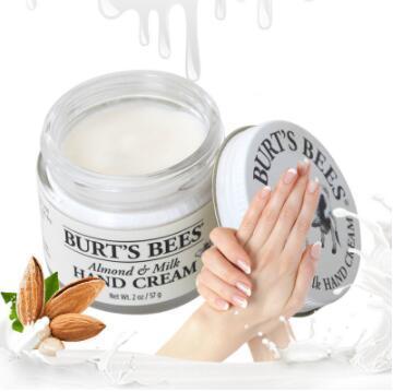 【荷兰DOD】Burt's Bees 小蜜蜂 杏仁牛奶蜂蜡护手霜 (深层保湿/滋养)57g