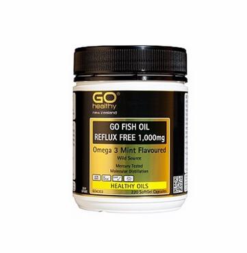 Go Healthy 高之源深海鱼油胶囊 220粒 降低胆固醇 88元/瓶