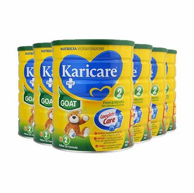 【Lark中文官网 黑五狂欢】Karicare 可瑞康婴儿羊奶粉 2段 900g6罐 包邮包税 新西兰直邮