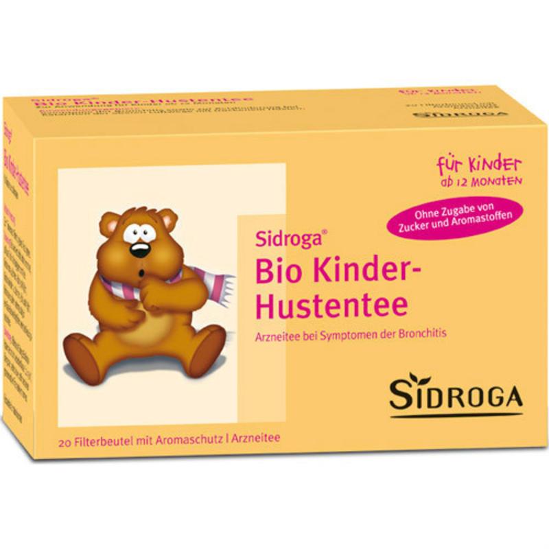 Sidroga 宝宝儿童有机草本止咳茶12m+ 20包