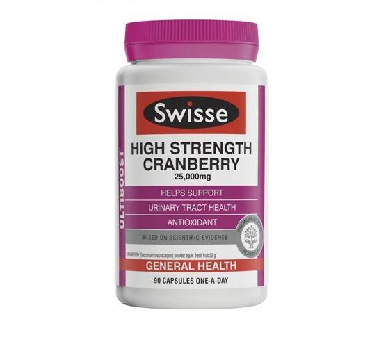 Swisse 高浓度蔓越莓精华 90粒