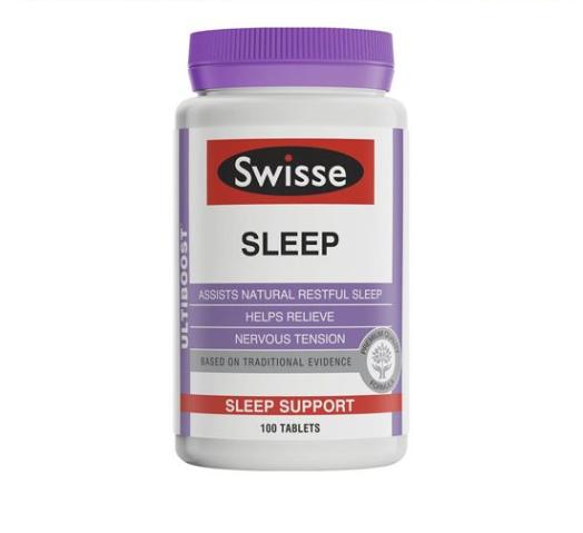 Swisse 天然草本助眠片 100粒 (促進睡眠/改善睡眠質量)