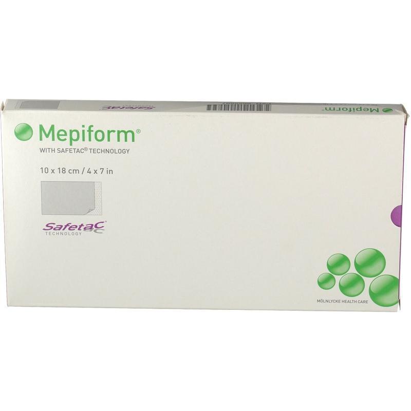 Mepiform美皮护疤痕贴 10 x 18 cm 5张 祛疤抚平增生