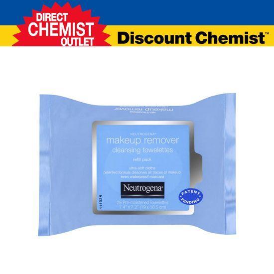 【單品包郵】Neutrogena 卸妝清潔濕巾 25片