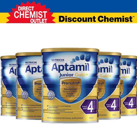 【六罐包邮包税】Aptamil爱他美金装奶粉4段
