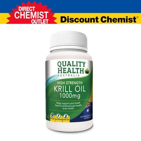 【單品包郵】Quality Health 高濃度磷蝦油 1000mg 60粒裝