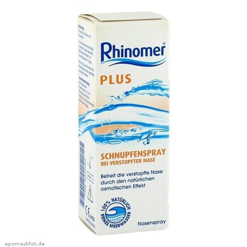 【德国BA】Rhinomer 2.2%海盐水感冒鼻塞通鼻喷雾 20ml 3岁+