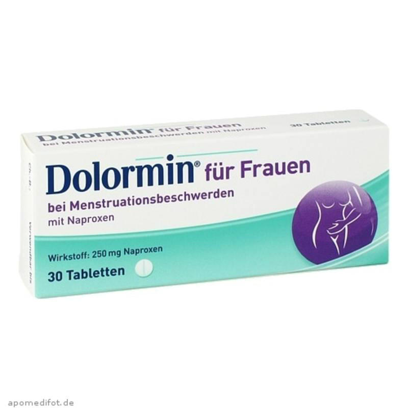 【德国BA】Dolormin 萘普生女性止痛经片 30 片