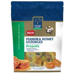 Manuka Health 麦卢卡蜂蜜含片 58片 - 蜂胶味