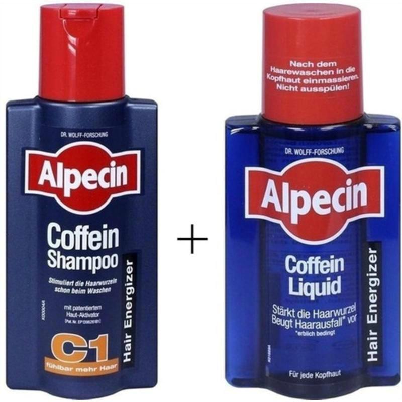 【德国BA】Alpecin 阿佩辛 止脱生发洗发露 C1 250 ml+ 防脱营养液200ml组合装