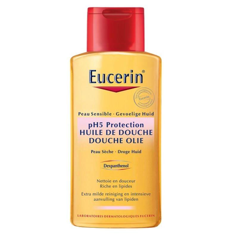 【荷兰DOD】Eucerin 优色林 PH5肌肤均衡调理沐浴油 200ml 温和保湿