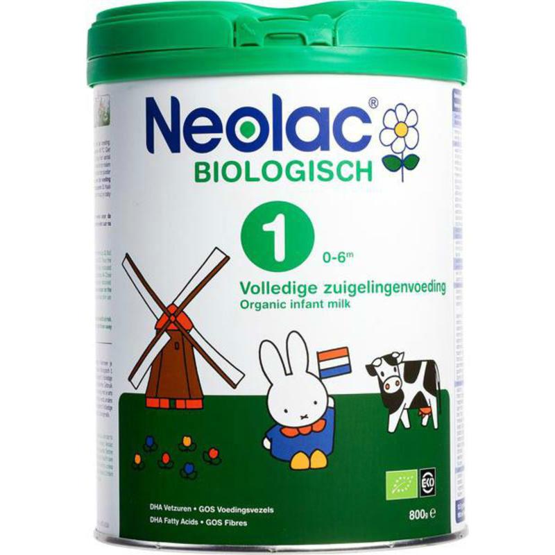 【荷兰DOD】荷兰 NEOLAC悠蓝 有机奶粉1段婴儿配方奶粉 800g 适合适合0-6个月宝宝