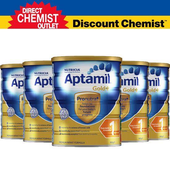 【六罐包邮包税】Aptamil爱他美金装奶粉1段