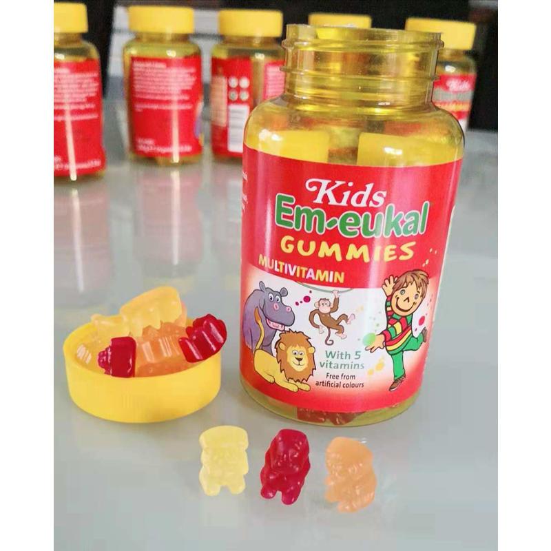 Em-eukal 索丹博士 动物造型多种维生素 软糖 4岁+ 150g 75粒