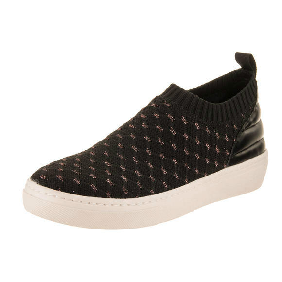Skechers 女士 Goldie - XOXO Black Slip-On Shoe 8 Women US休閑鞋