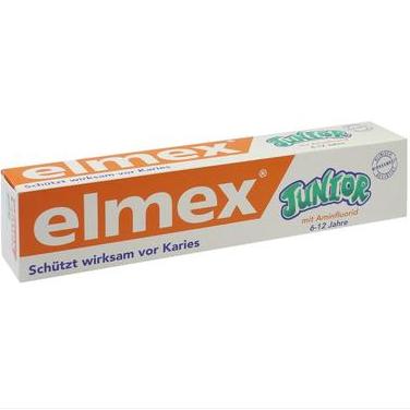 【DC德国药房】Elmex 易学 儿童抗龋齿换牙牙膏 75ml(6-12岁)
