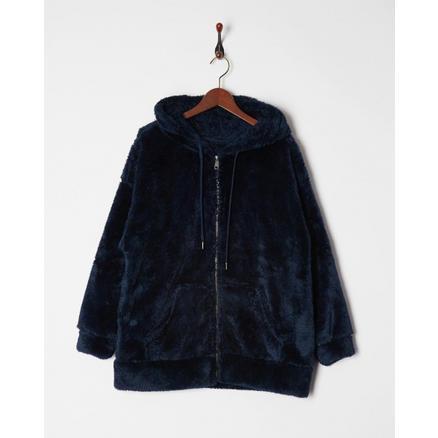 【GLADD】VIS 人造皮草双面加绒大衣