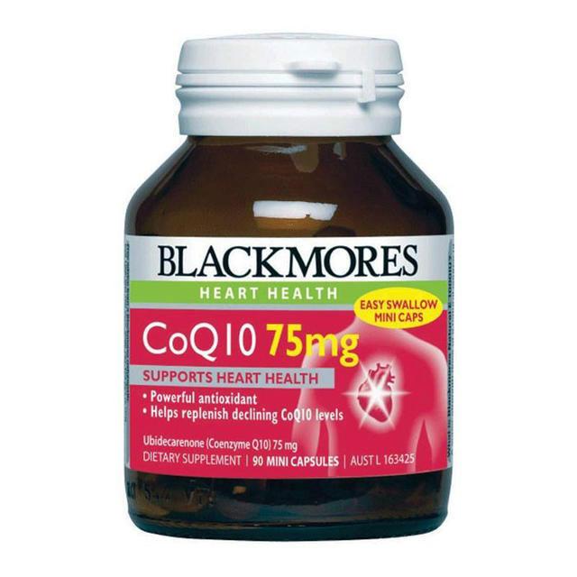 【澳洲CD药房】Blackmores 澳佳宝 辅酶Q10保护心血管营养素 90粒x75mg