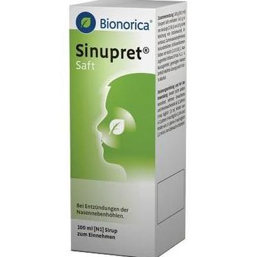 【DC德国药房】德国 Bionorica 仙露贝植物鼻窦炎糖浆 2m+ 100ml