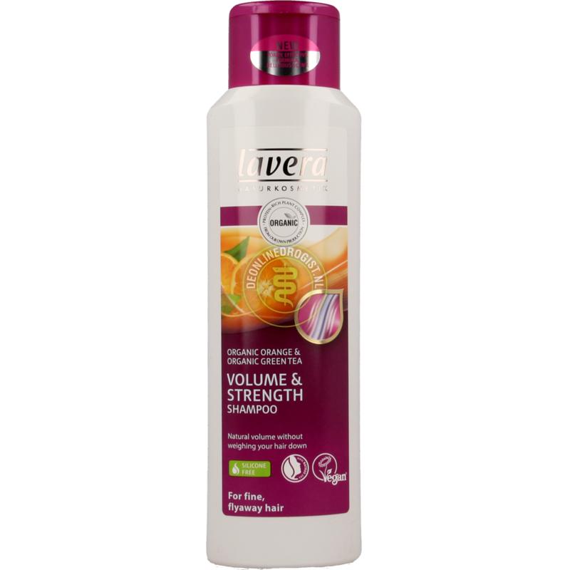 【荷兰DOD】Lavera 拉薇 有机香橙绿茶无硅油洗发水 (孕妇可用) 250ml