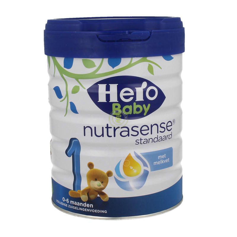 【荷兰DOD】Hero Baby 荷兰白金版 1段婴幼儿配方营养奶粉 800g(0-6个月婴幼儿)