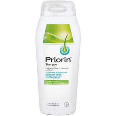 【DC德国药房】Priorin 防脱洗发水 200ml 适合脱发/发量越来越稀薄的人群