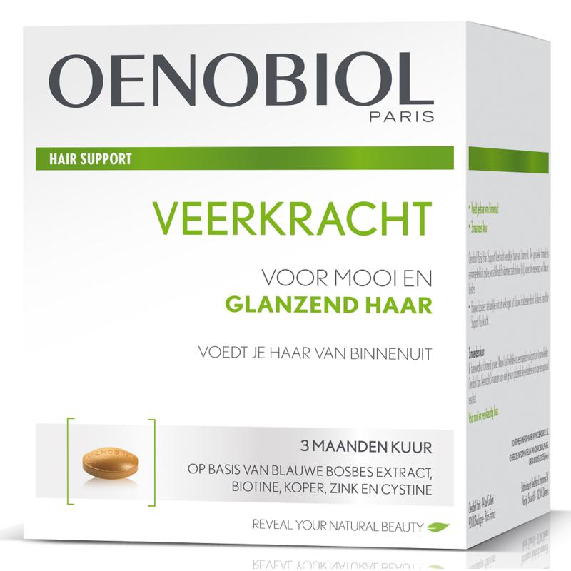 【荷兰DOD】oenobiol Paris欧诺比生发养发护发胶囊 强韧发根增强弹性 180粒