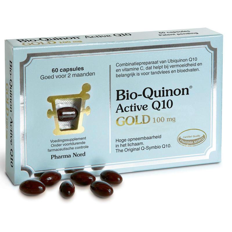 【荷兰DOD】Pharma Nord 法尔诺德 Bio-Quinon 辅酶Q10 保护心脏抗衰老胶囊 100mg/CP 60粒