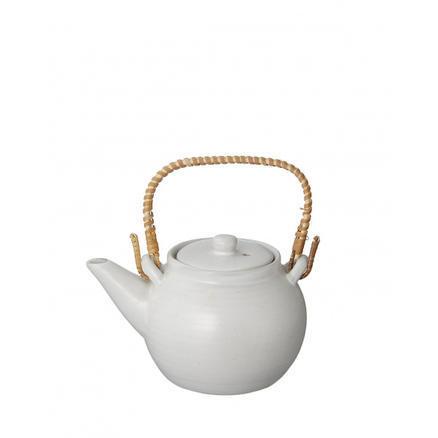 【GLADD】浅白灰系列圆形陶瓷茶壶