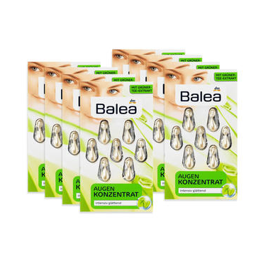 【DC德国药房】【8个套装】Balea芭乐雅 绿茶素深度抗皱保湿精华胶囊 7日量8