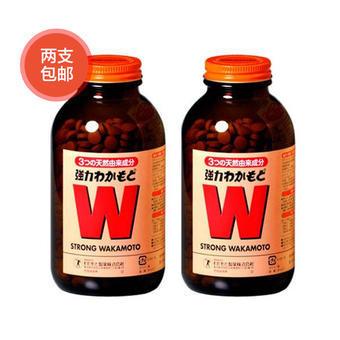 【多庆屋】wakamoto健胃清肠通秘W强力活性酵素 1000片2盒
