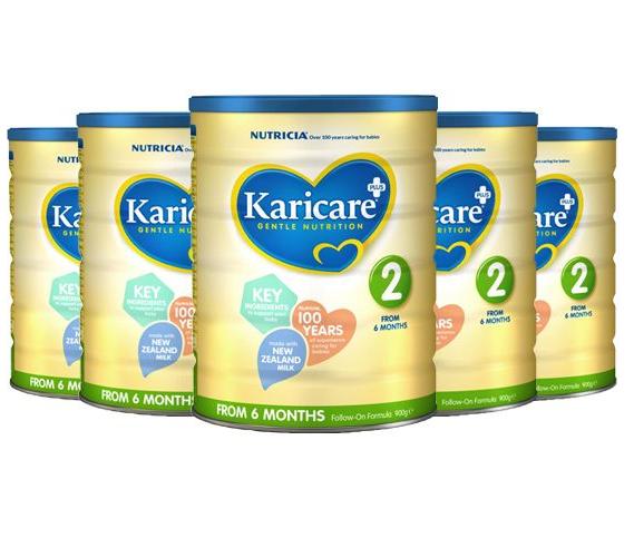 【六罐包邮包税】Karicare 可瑞康 牛奶粉2段