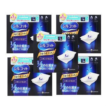【多庆屋】尤妮佳超省水滋润化妆棉 40片X5盒