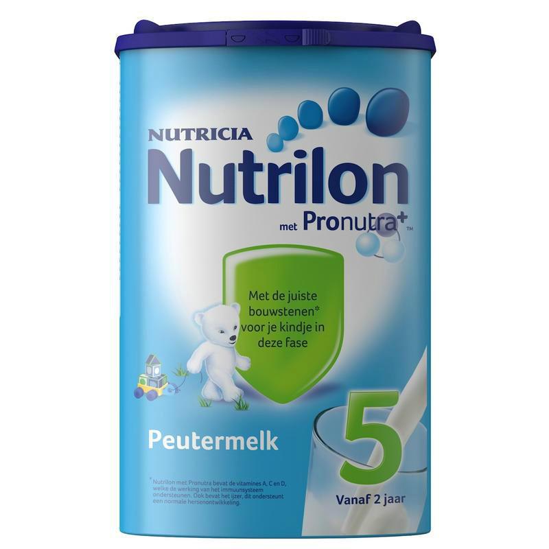 【荷兰DOD】Nutrilon 牛栏/诺优能 婴幼儿5段成长配方奶粉 800g