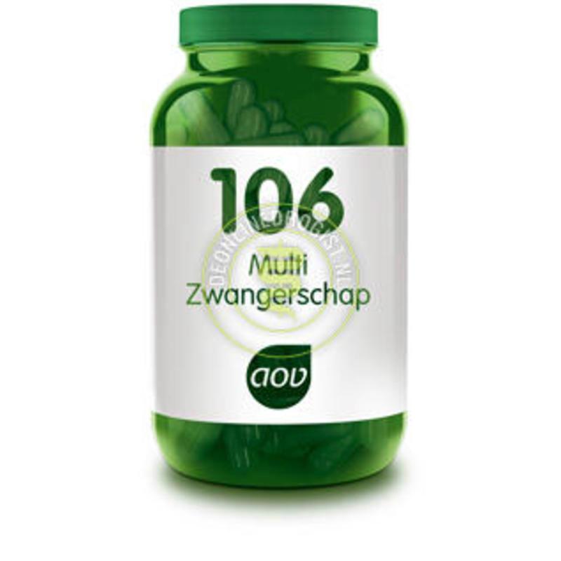 【荷兰DOD】AOV 106备孕/孕产期/哺乳期全阶段维生素矿物质胶囊 60粒