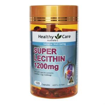 【澳洲CD药房】Healthy Care 大豆卵磷脂100粒