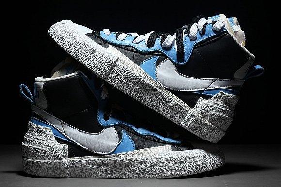 "Sacai联名Nike耐克推出""Blazer With The Dunk""联名系列"
