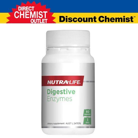 Nutralife 纽乐 水果消化酶酵素胶囊 60粒(促消化,清肠道)