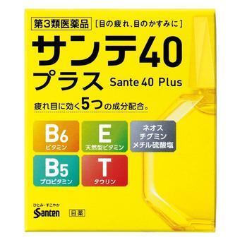 【多庆屋】参天制药维生素氨基酸缓解疲劳防眼疾 40+滴眼液
