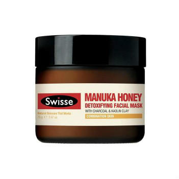 【澳洲CD药房】Swisse 麦卢卡蜂蜜滋养面膜 70g