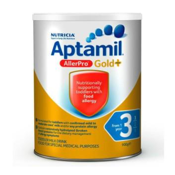 【澳洲CD药房】Aptamil 爱他美 金装3段奶粉(适合1岁以上婴幼儿)900g 牛奶过敏专用
