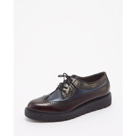 【GLADD】英伦风布洛克女鞋