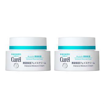 【多庆屋】珂润润浸保湿霜 40g(干燥敏感肌可用)2罐