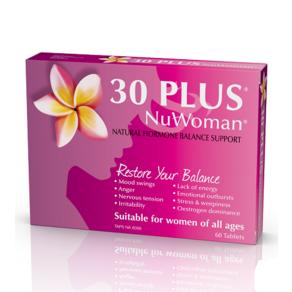 【新西兰药房推荐】30 Plus NuWoman 女性荷尔蒙补充剂 60片