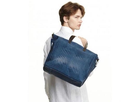 【1.5折】MODE FOURRURE 男士牛皮编织包 促销价JP¥21600/约1347元