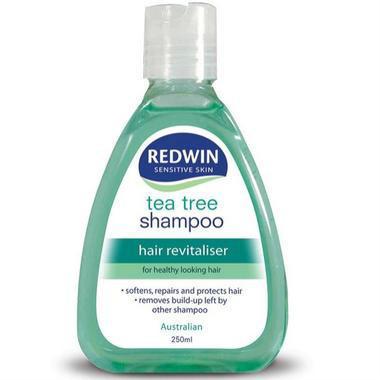 【澳洲PO药房】Redwin 天然茶树油洗发水 无硅 孕妇可用 250ml