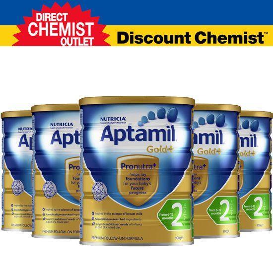 【元旦特惠价】六罐包邮包税 Aptamil爱他美金装奶粉2段