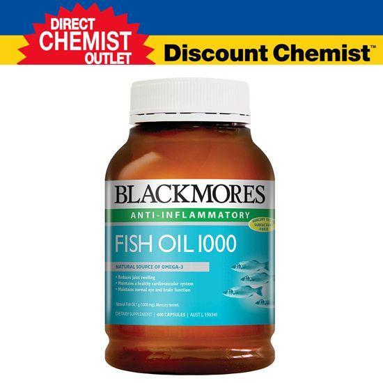 【元旦特惠】Blackmores 澳佳宝深海鱼油软胶囊 1000mg 400粒