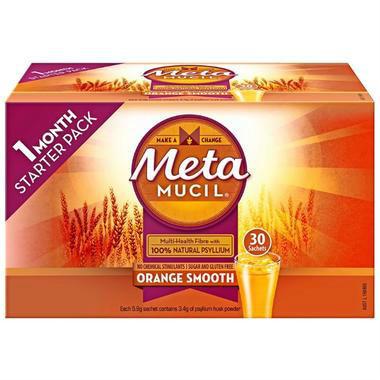 【澳洲PO药房】Metamucil 吸油纤维素膳食纤维粉 香橙味 30包